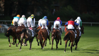 Galopprennen in Berlin Hoppegarten