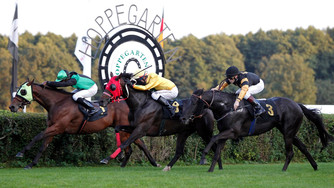 Finish in Berlin Hoppegarten