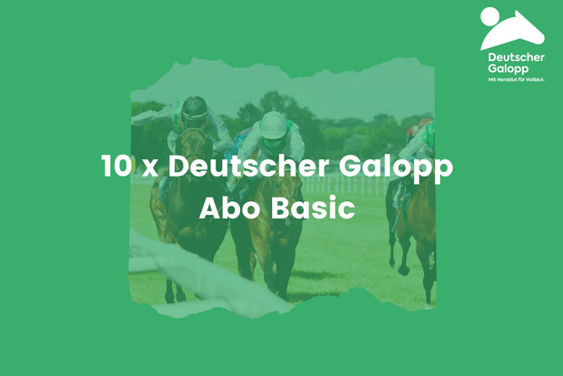 Deutscher Galopp Abo Basic