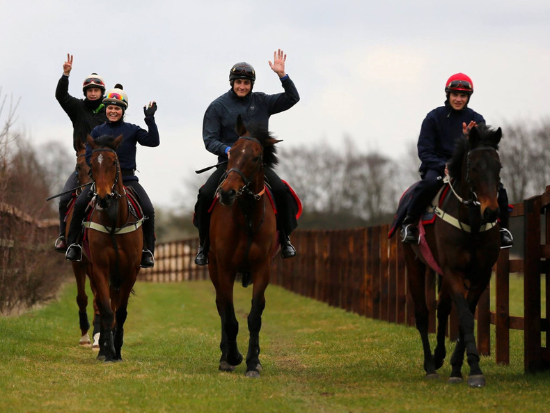 Zu Besuch in der British Racing School in Newmarket