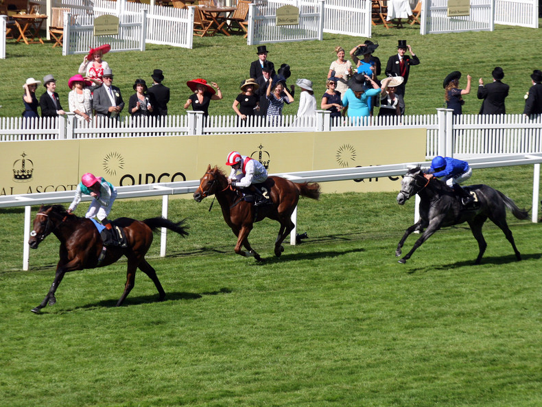 Royal Ascot, Kingman gewinnt die St James's Palace Stakes mit James Doyle