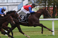 Schlenderhaner Mare Australis gewinnt wichtiges Derby-Trial in Chantilly